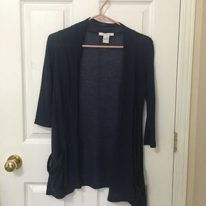 ⭐️ 2/$20 Charlotte Russe Blue Sheer Cardigan